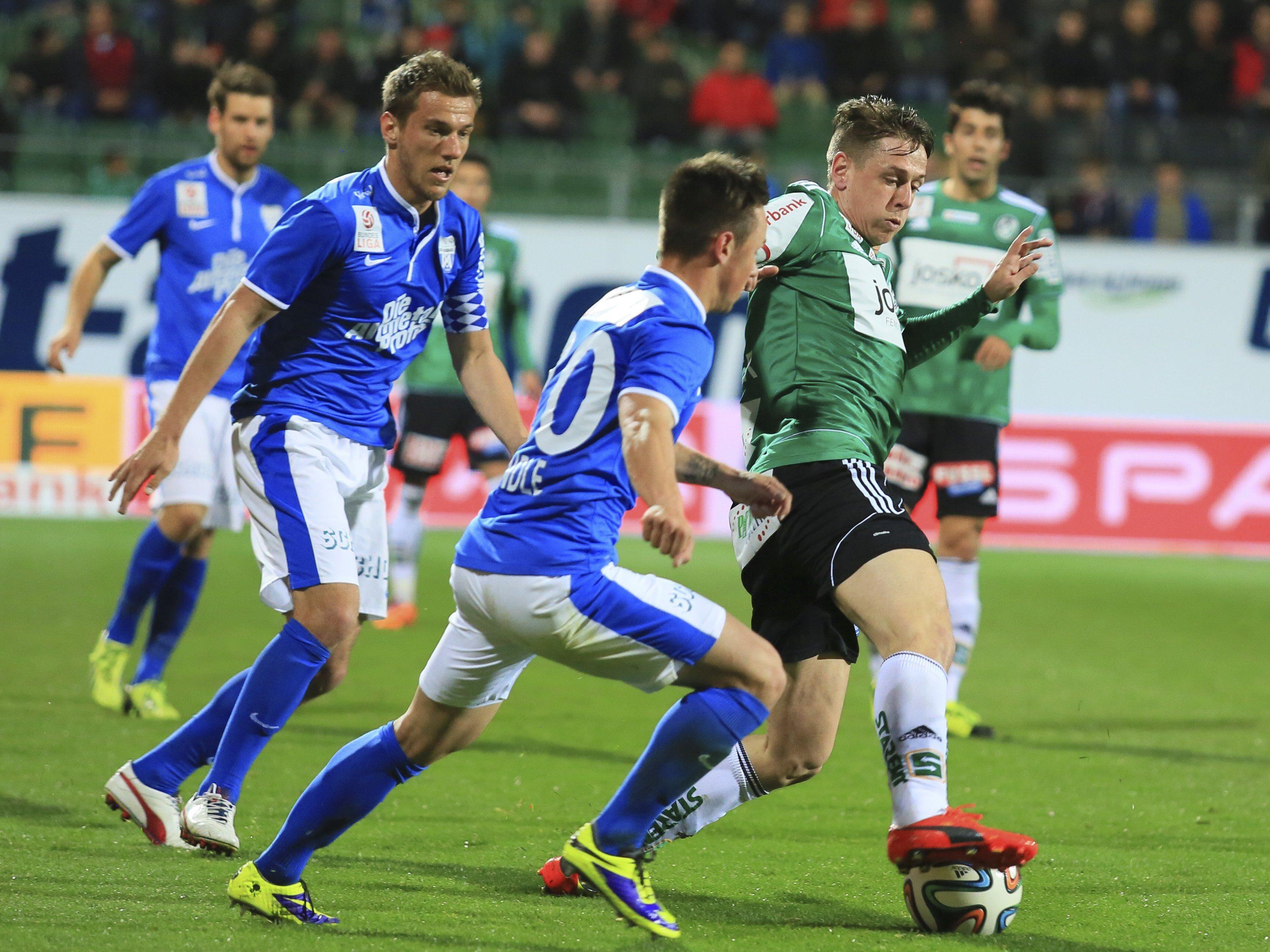 LIVE-Ticker zum Spiel SV Ried gegen SV Grödig ab 19.00 Uhr.