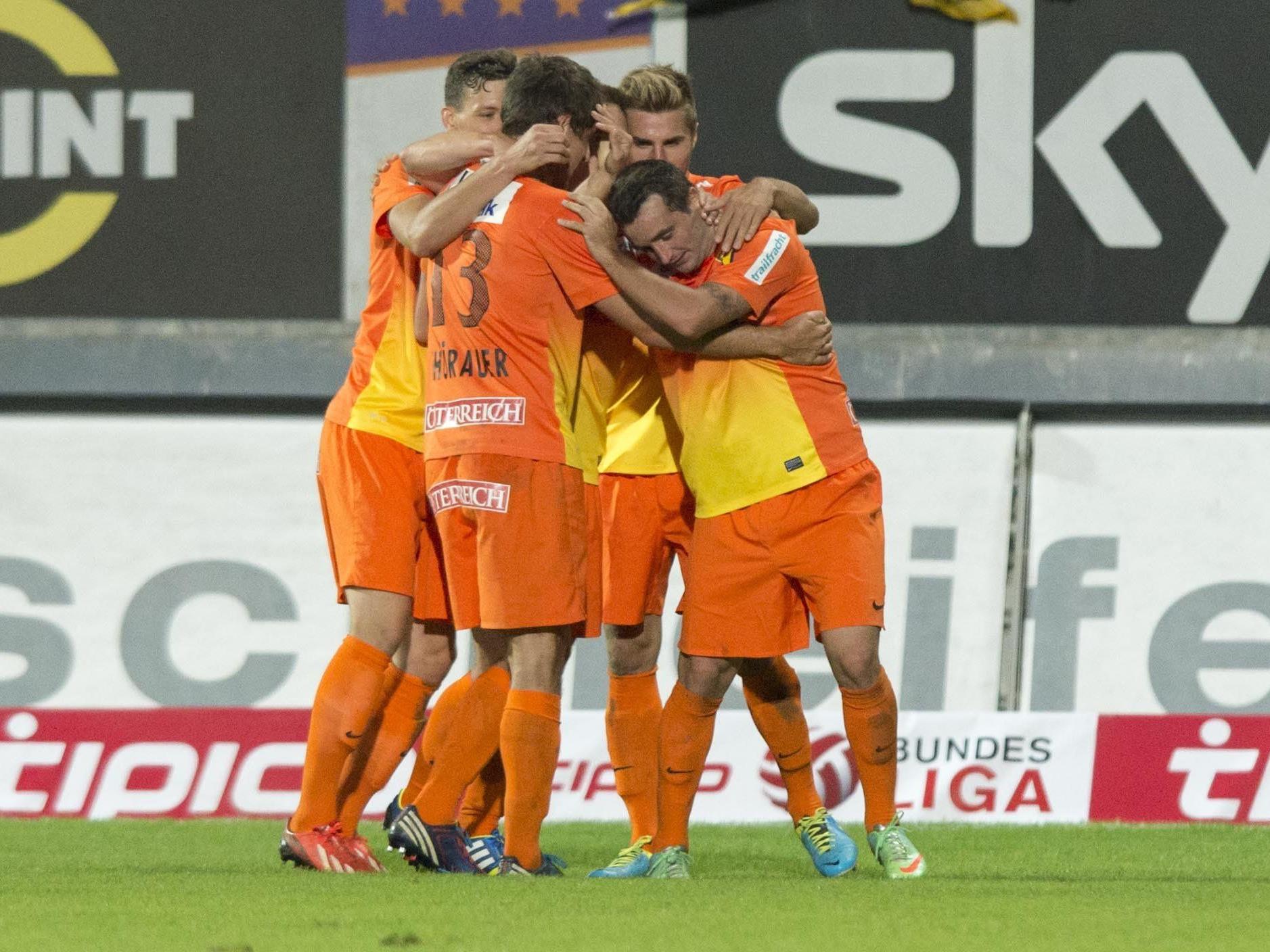 LIVE-Ticker zum Spiel SC Wiener Neustadt gegen FC Admira Wacker Mödling ab 19.00 Uhr.