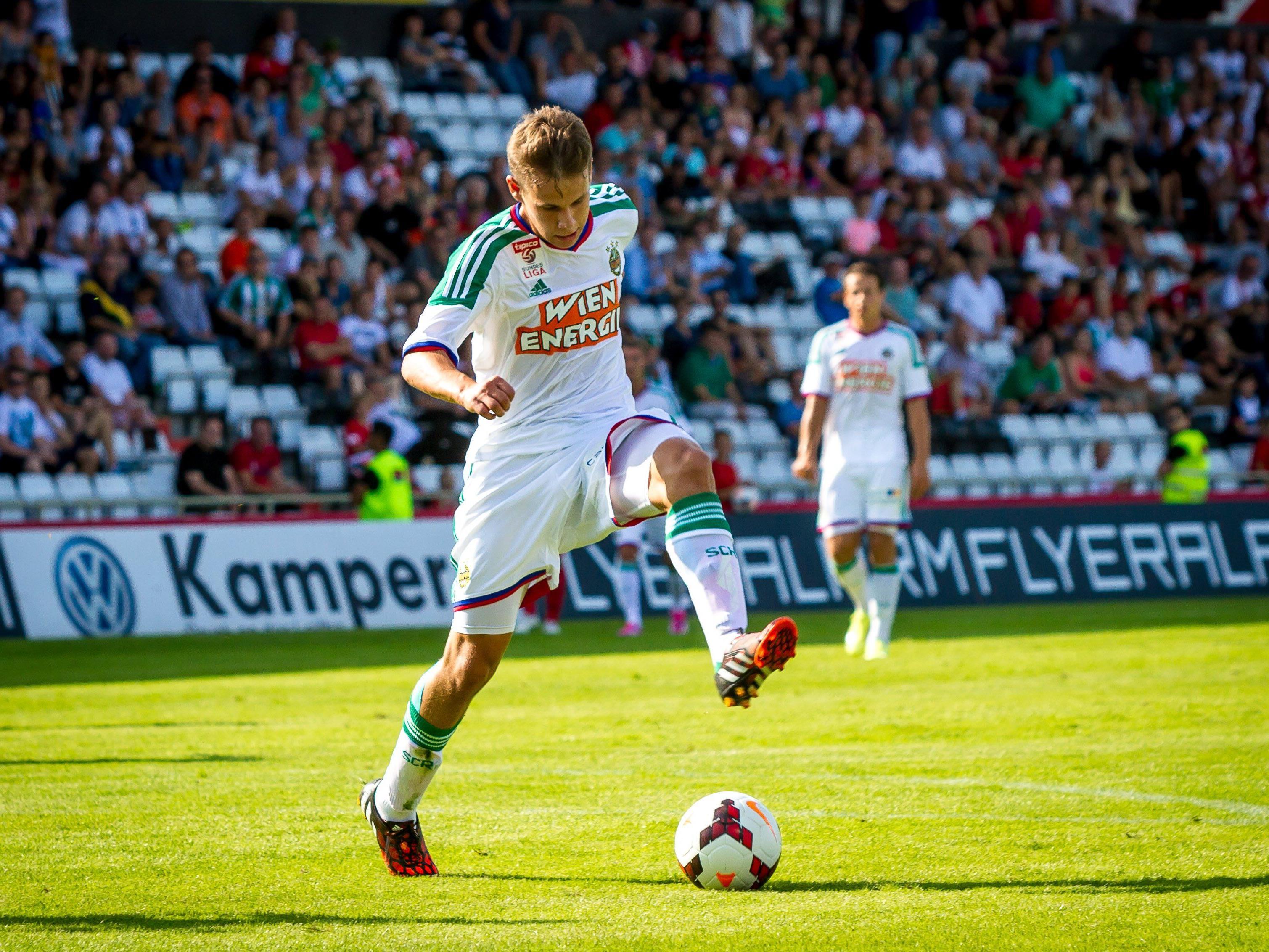 LIVE-Ticker zum Spiel SK Rapid Wien gegen SCR Altach ab 16.30 Uhr.