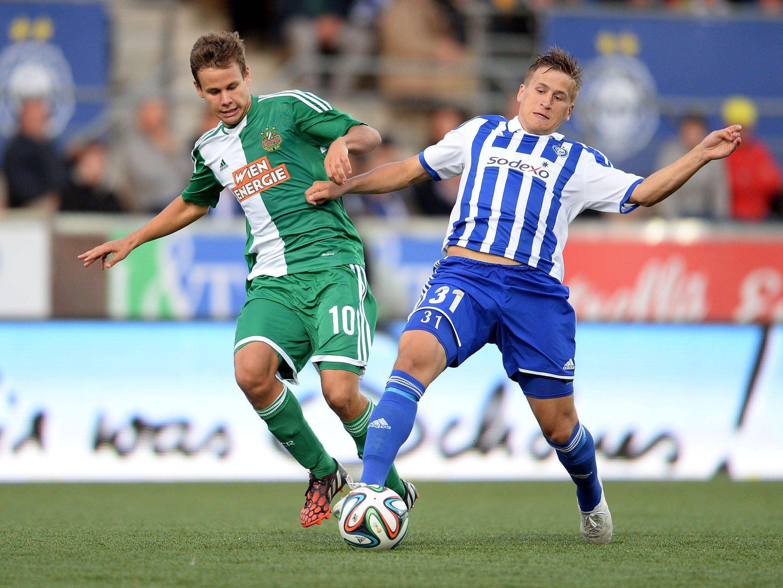 Rapid Wien unterlag in Helsinki mit 1:2. Louis Schaub erzielte den Treffer.