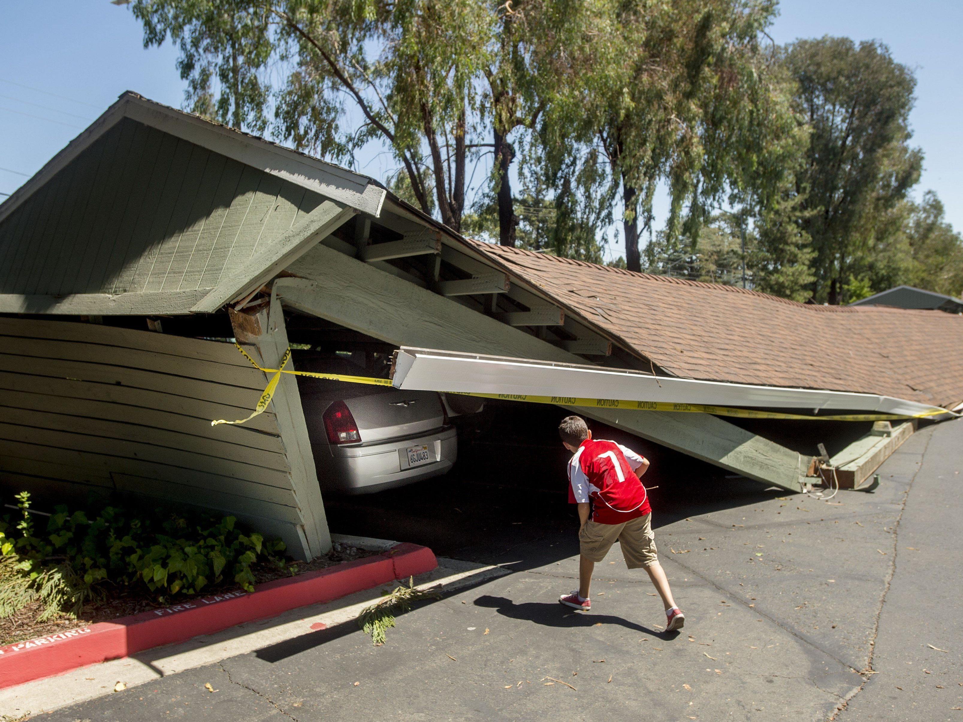 Schwere Schäden und mehr als 100 Verletzte.