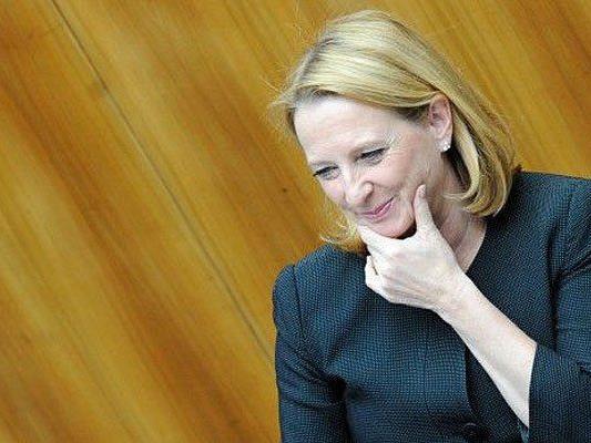 Die SPÖ nominierte Doris Bures als Nationalratspräsidentin