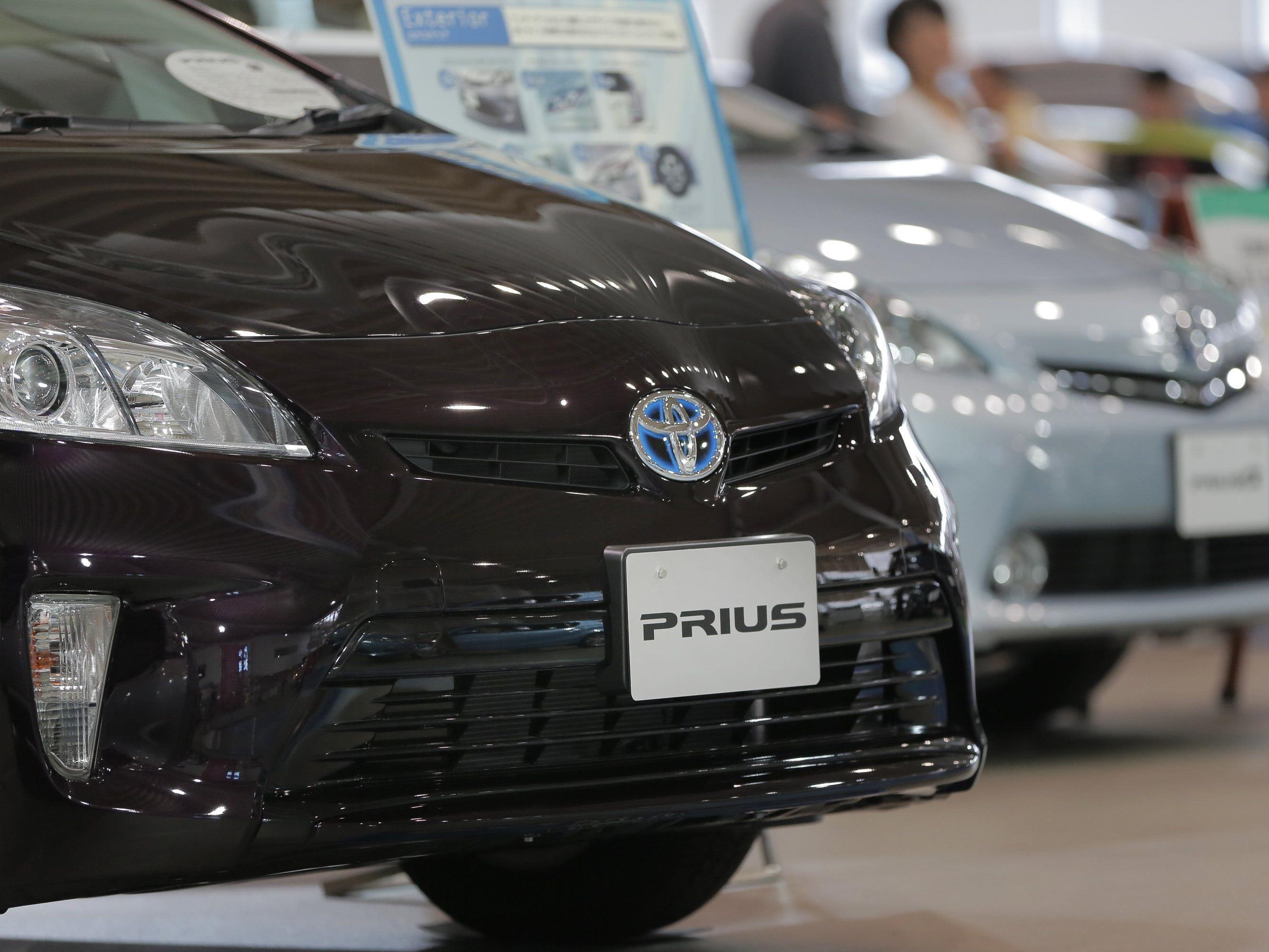 Der Toyota Prius ist auch als Hybridauto erhältlich.