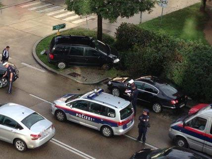 VIENNA.AT-leserreporter hat einen Unfall auf der Wienerbergstraße beobachtet