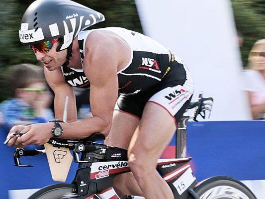 Der Wiener Triathlet Andreas Fuchs