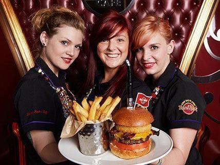 Das Hard Rock Cafe Wien hat bereits geöffnet.