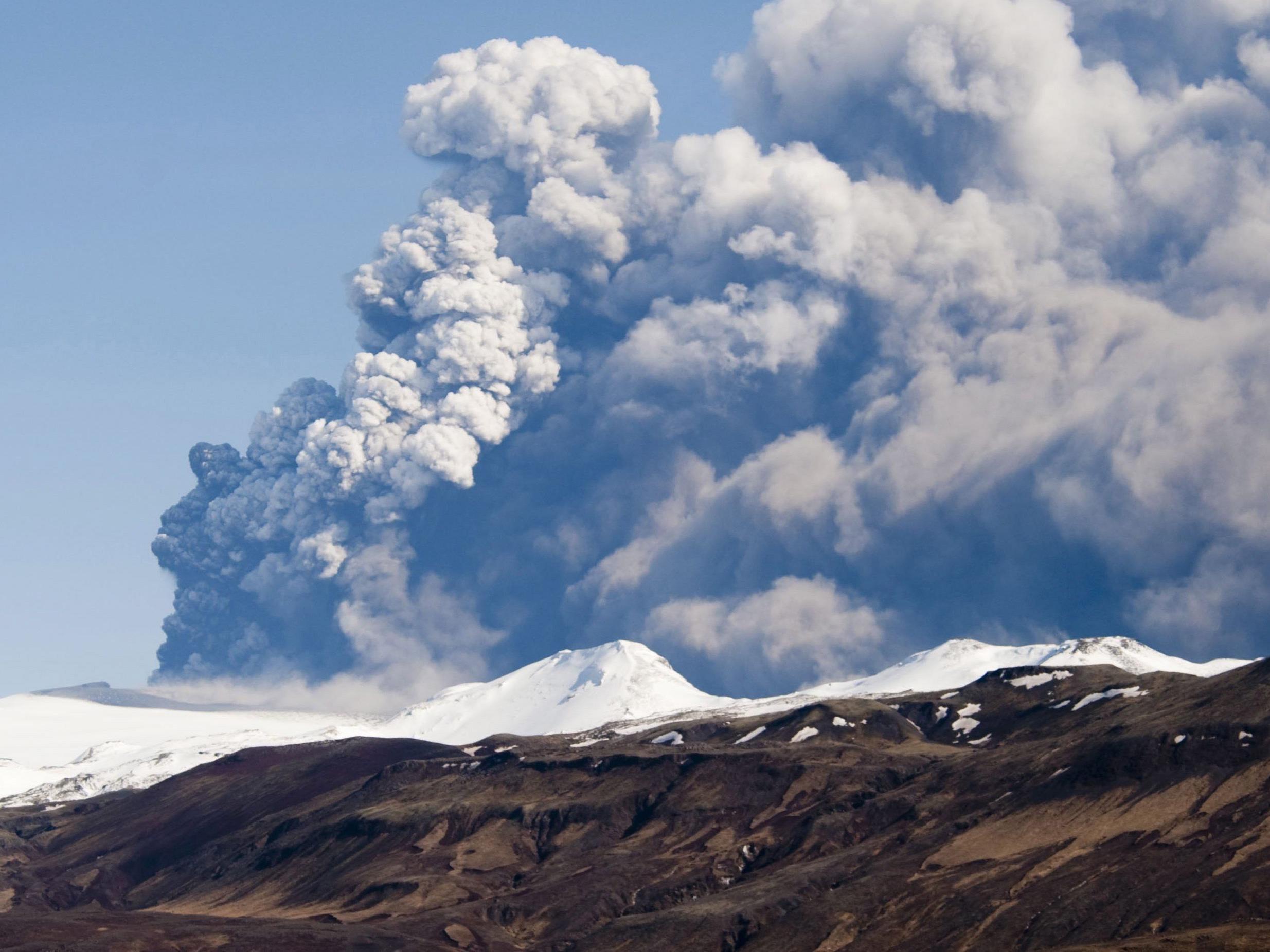 Die Behörden befürchten einen Vulkanausbruch wie 2010 (Eyjafjallajokull).