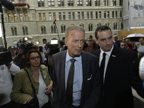 Reinhold Mitterlehner am Dienstag vor der Sitzung