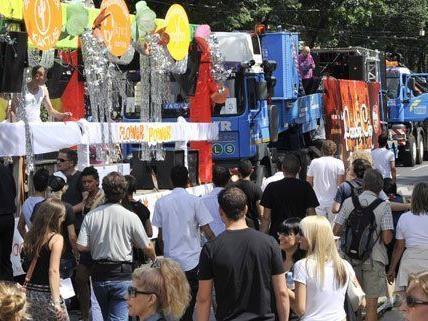 Wegen der Streetparade wird auch heuer wieder der Wiener Ring gesperrt