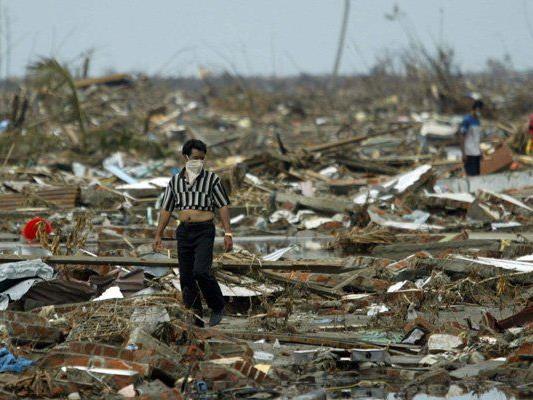 Der Tsunami im Dezember 2004 riss 230.000 Menschen in den Tod.