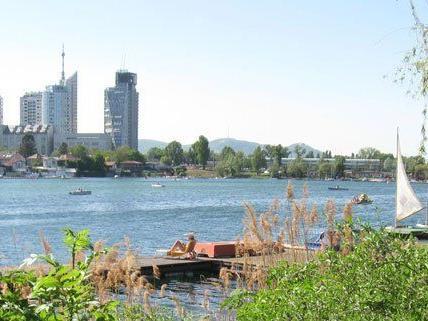 Die Alte Donau ist für viele Wiener ein Freizeitparadies.