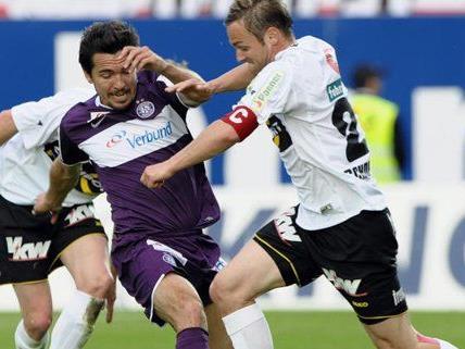 Der FK Austria Wien steht vor einem Pflichtsieg gegen Altach.