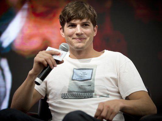"Ashton Kutcher ist Hauptdarsteller in der Kult-Serie ""Two and a Half Men"""