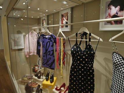 Die amy Winehouse-Ausstellung war vor Wien auch in London zu sehen.