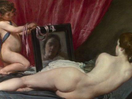 """""""The Rokeby Venus"""" von Diego Velázquez wird im KHM gezeigt."""