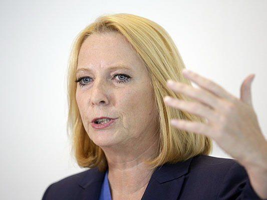 Doris Bures wurde als neue Nationalratspräsidentin nominiert
