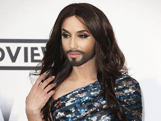 Conchita Wurst ist über ein auf sie gemünztes Werbesujet verärgert