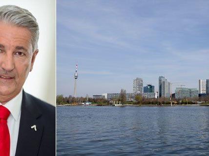 Ernst Nevrivy ist der neue Bezirksvorsteher im 22. Bezirk.