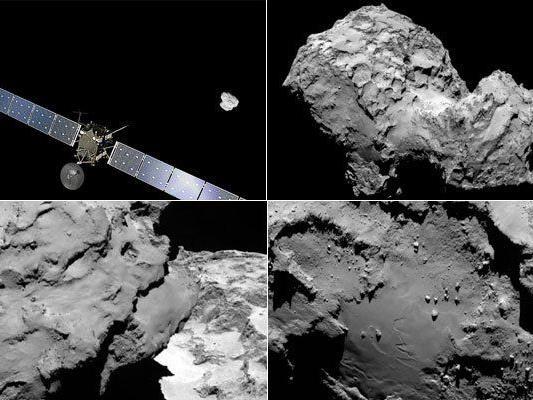 """Raumsonde """"Rosetta"""" erreichte nach zehnjährigem Flug Zielkometen."""