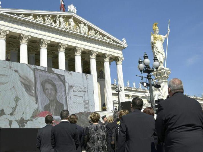 In Wien wurde am Samstag Abschied genommen von Barbara Prammer.