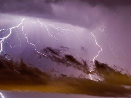 Auch in der kommenden Woche gibt es Gewitter.