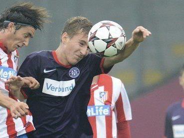 Nachwuchsspieler Grubeck (FK Austria Wien) ist nach einem Training abgepasst und verprügelt worden.