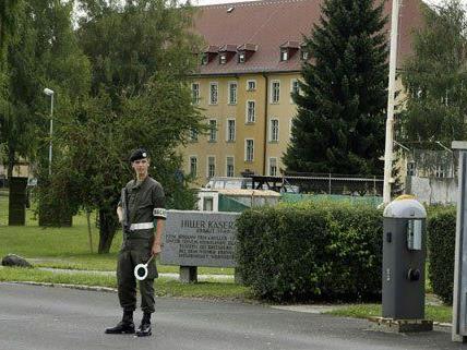In der Hiller-Kaserne werden keine Asylwerber untergebracht.