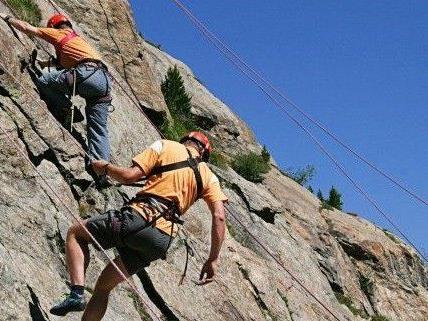 Ein Quintett geriet beim Klettern in den Eisenerzer Alpen in eine Notlage