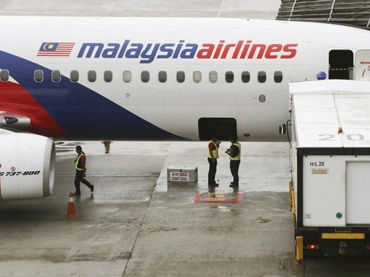 Es gibt kaum Gäste auf Flügen der Malaysia Airlines.
