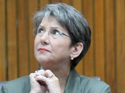 Barbara Prammer ist am Samstag gestorben.