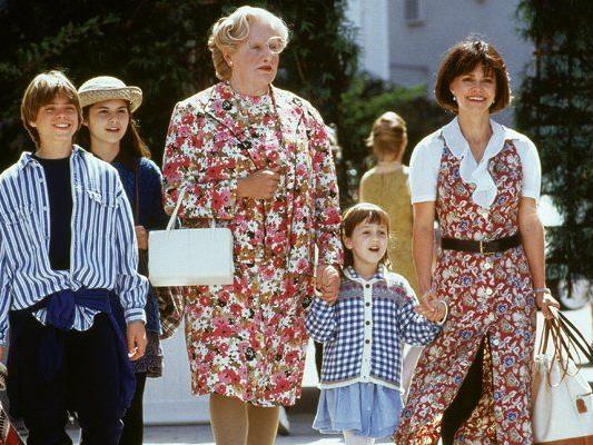 """Robin Williams als Verwandlungskünstler in """"Mrs. Doubtfire"""""""