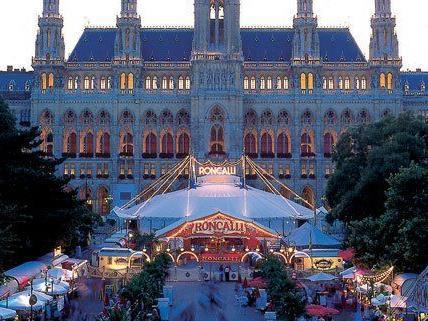 Auch in diesem Jahr gastiert der Circus Roncalli in Wien.