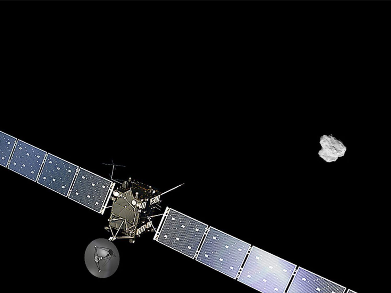 """""""Rosetta"""" begann Manöver zum Eintritt in Kometenumlaufbahn"""