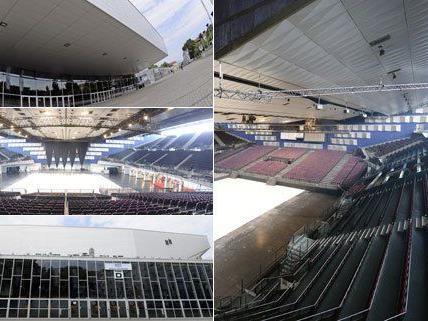 In der Wiener Stadthalle wird 2015 der ESC ausgetragen.