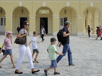 Die höchste Steigerung der Touristen-Zahlen gab es in Wien.