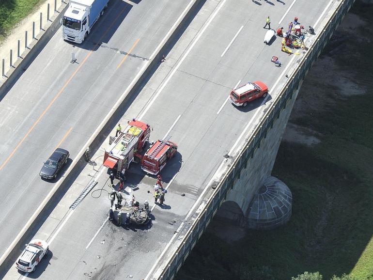 Tödlicher Verkehrsunfall am Samstag.