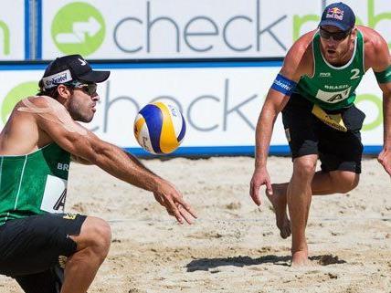 Das Duo aus Brasilien holte am Sonntag den Sieg.