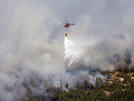Brandbekämpfung könnte den ganzen August in Anspruch nehmen.