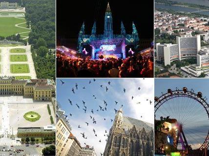 In Wien kann man auch in 24 Stunden viel sehen.