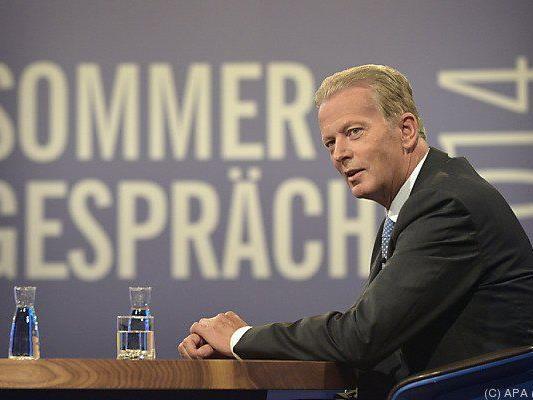 Der Vizekanzler im ORF-Sommergespräch