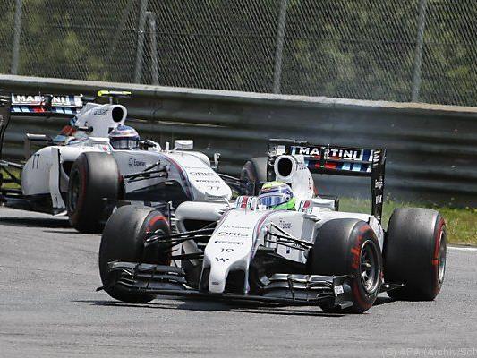 Massa und Bottas: Dieses Duo bleibt bei Williams bestehen.