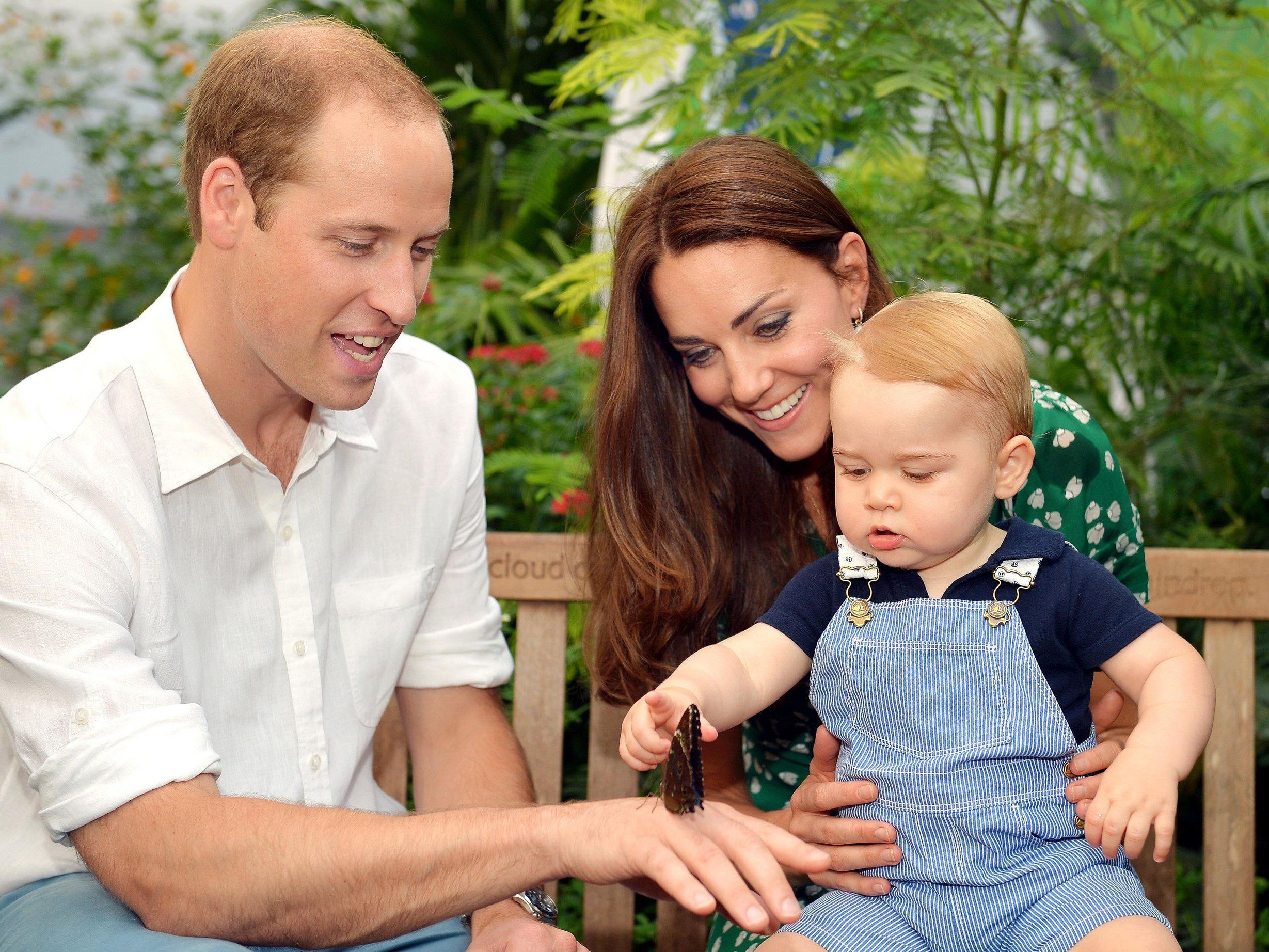 Prinz George bekommt ein kleines Geschwisterchen.