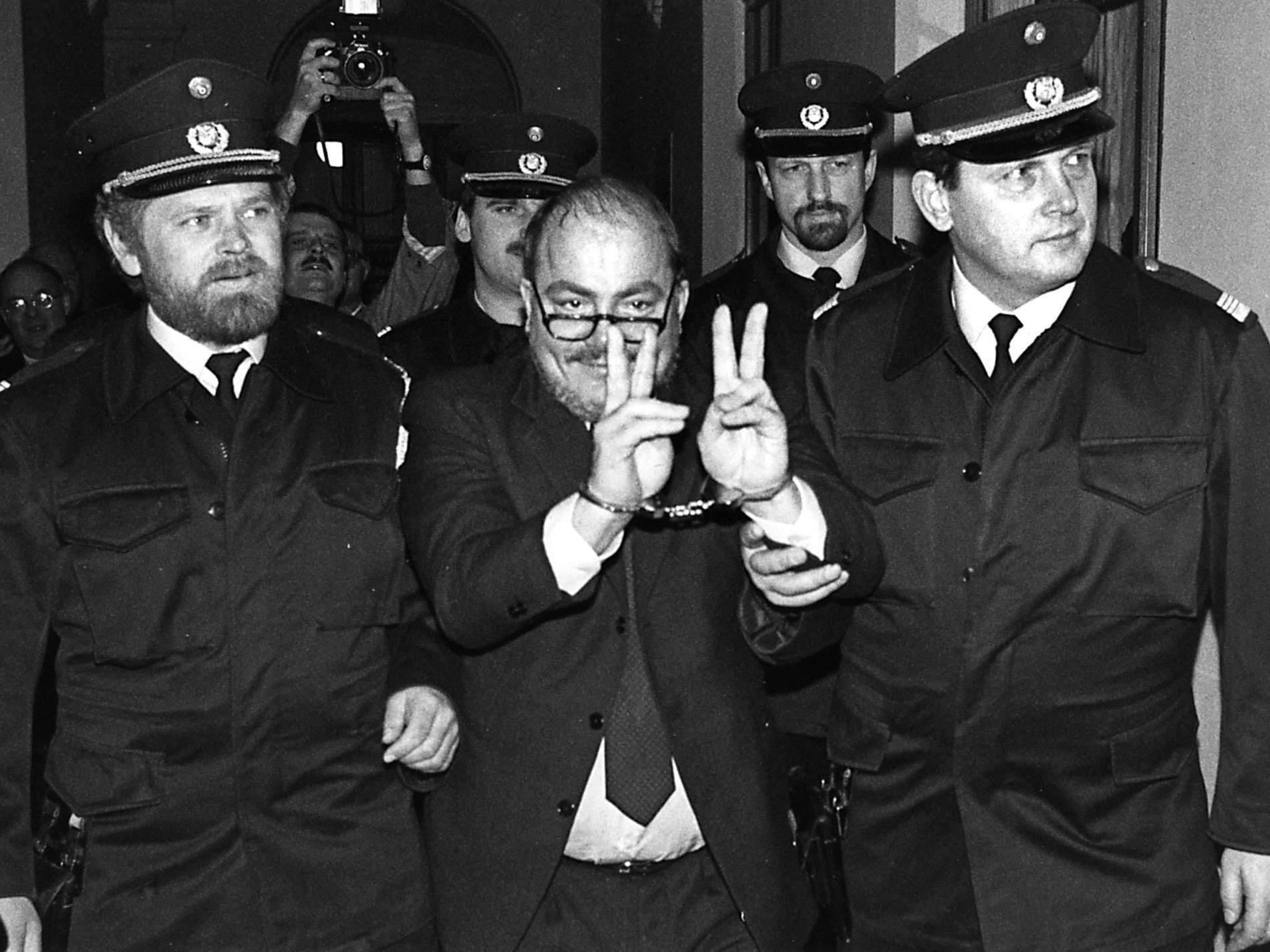 Die Verhaftung von Udo Proksch ist nun 25 Jahre her.