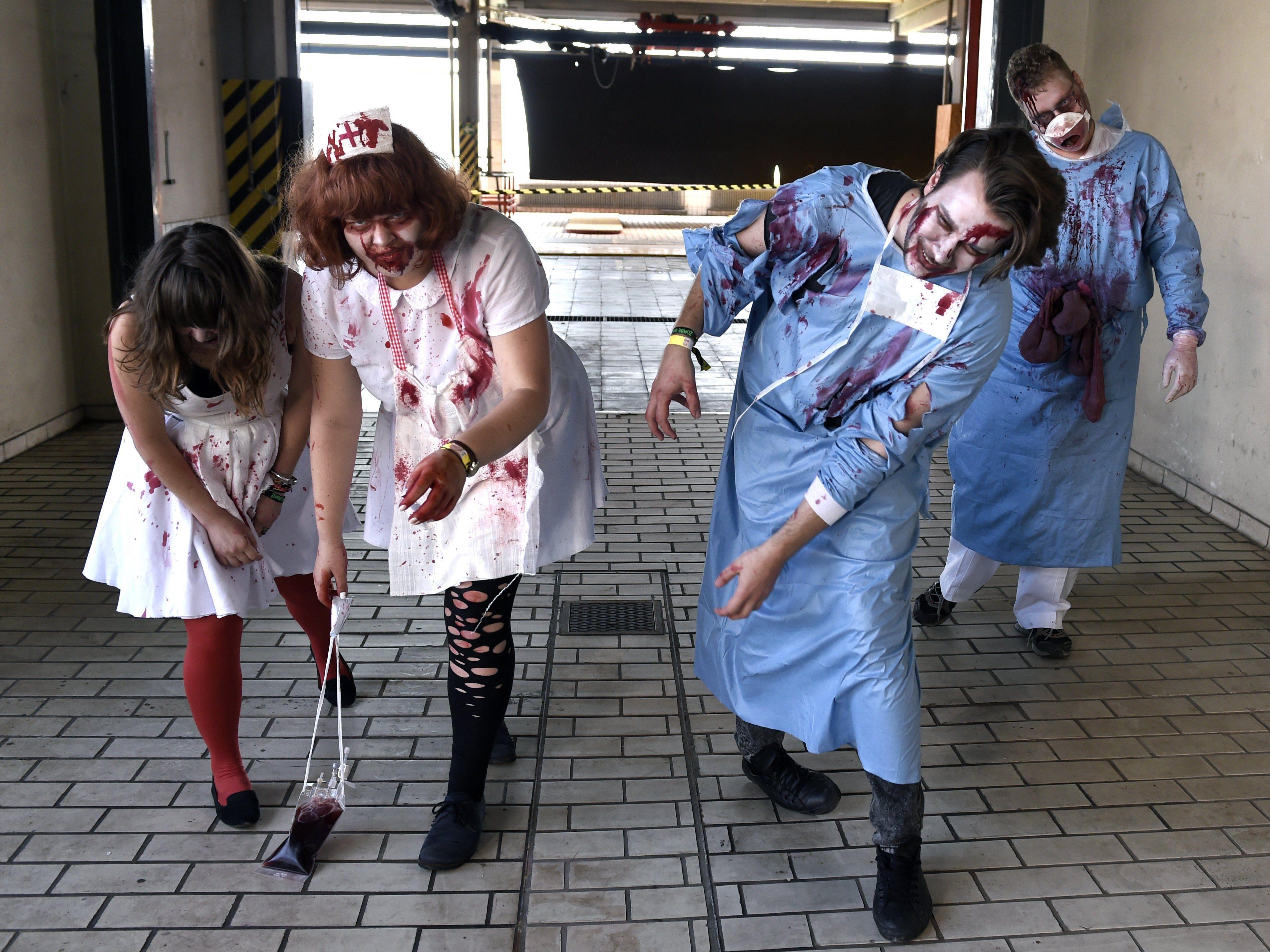 """9.000 Besucher bei Österreichs erstem """"Zombie Run"""" in St. Pölten"""
