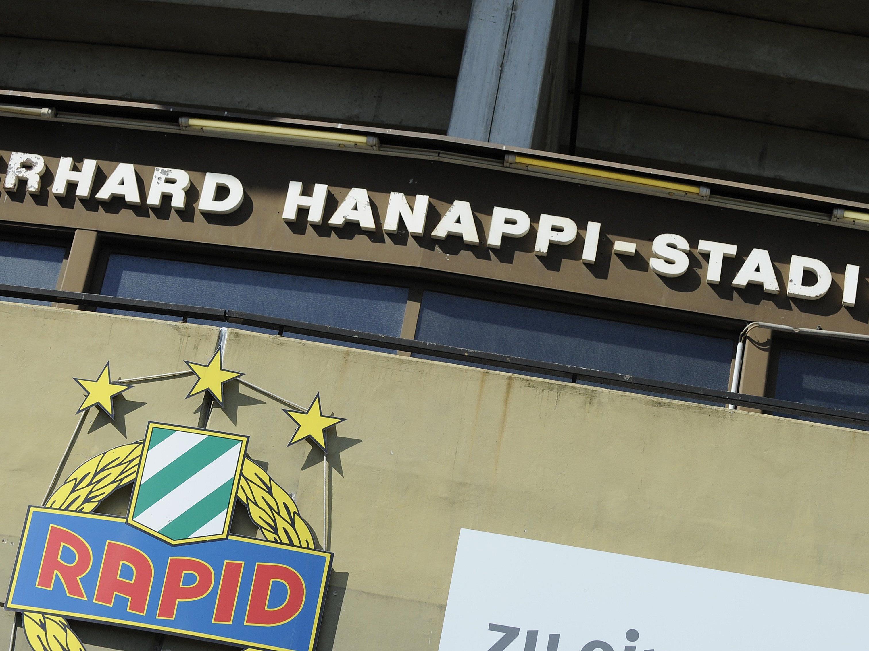 Am 4. Oktober findet im St. Hanappi eine Abrissparty für Rapid-Fans statt.