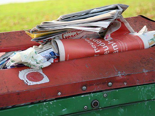 Sensible Akten landeten ungeschreddert im Altpapier