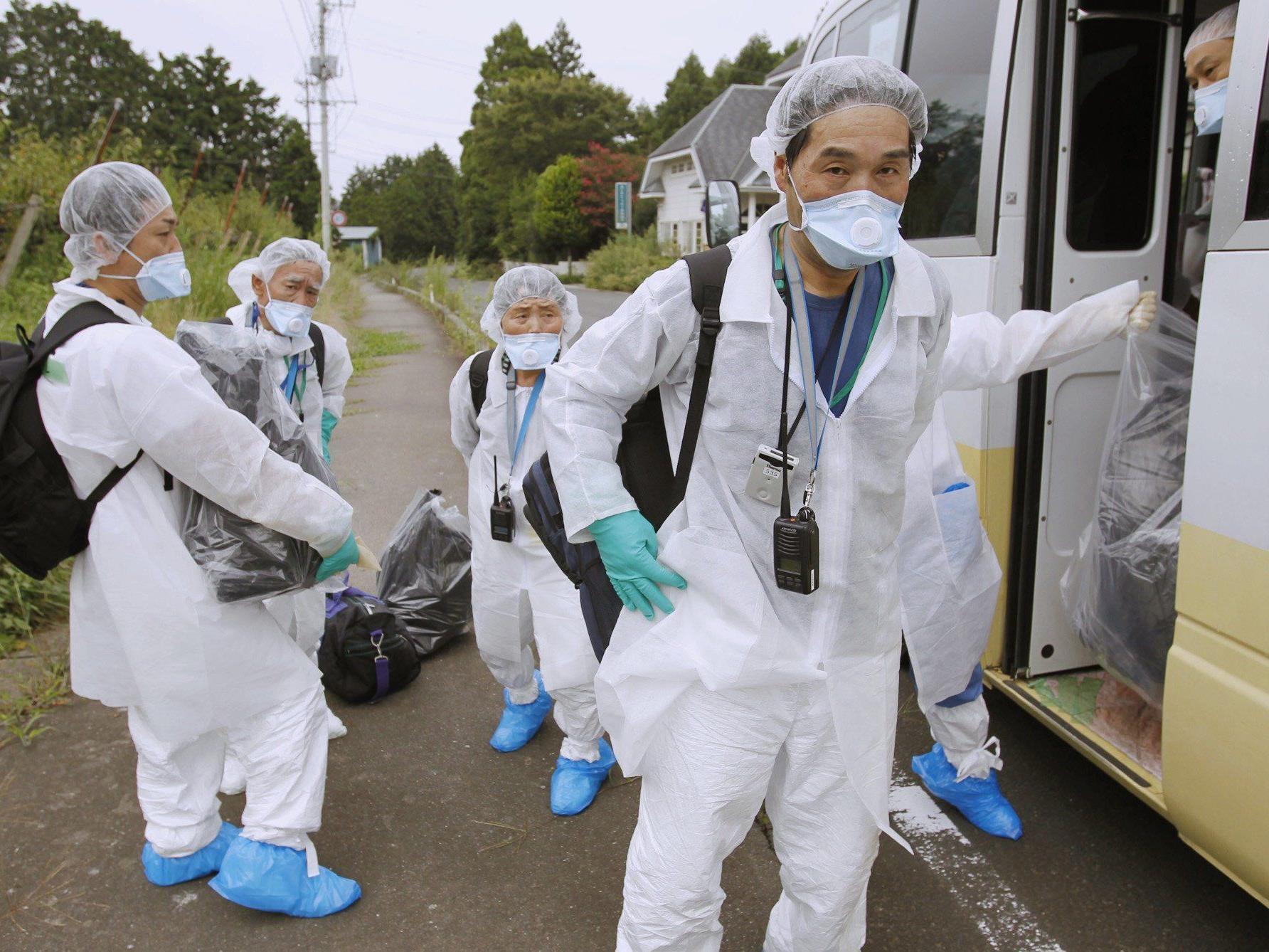 Etwa zwei Millionen Japaner waren bei der Erdbeben-Simulation dabei.