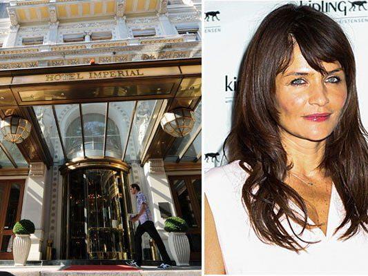 Bei der Eröffnung des Hotel Imperial soll auch Topmodel Helena Christensen zugegen sein