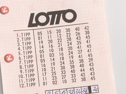 Ein Solosechser im Lotto geht nach NÖ