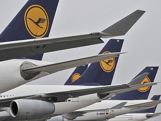 Bei der Lufthansa streiken die Piloten
